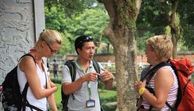Lý do bạn nên chọn nghề hướng dẫn viên quốc tế