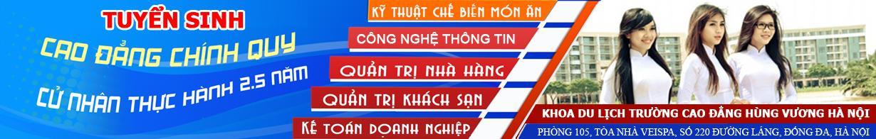 Cao đẳng du lịch Hà Nội